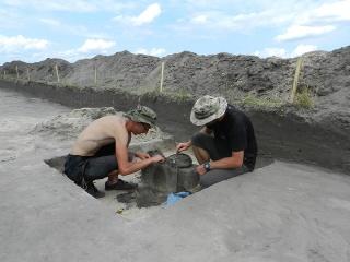 Археологічні розкопки поблизу Каріва